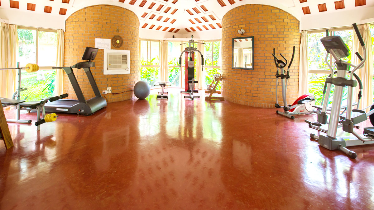 Modern Day fitness facilities alongwith Authentic Ayurveda