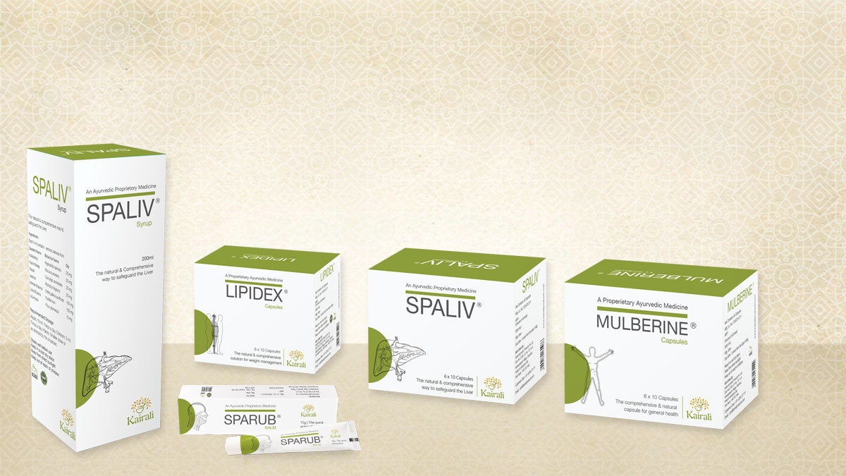 Kairali's Patented Ayurvedic Medicines