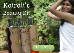 Offer Advertisement of Kairali Products beauty kit