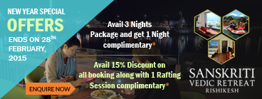 Avail 3 Nights Package and get 1 Night complementary