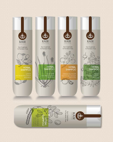Kairali's Ayurvedic Shampoos and Beauty Products