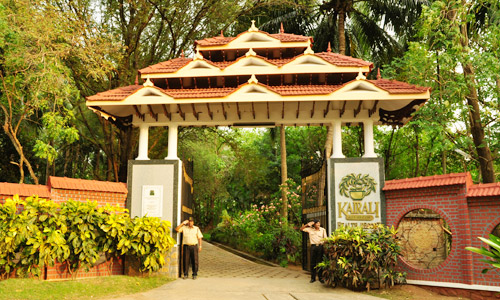 Kairali Ayurvedic Group, Entrance of Kairali - The Ayurvedic Healing Village